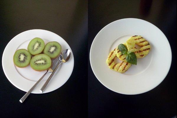 świeże owoce kiwi, ananas w diecie-Jasmed